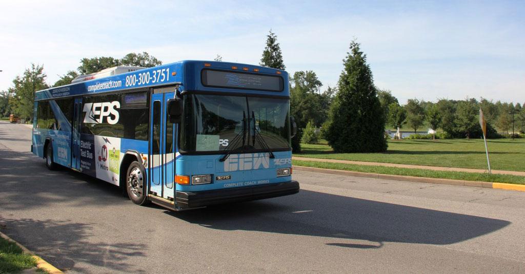 ZEPS Bus St. Louis Metro Transit
