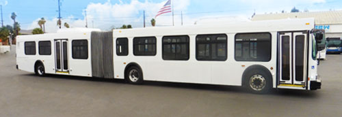 CCW Delivers Two Completely Rehabbed 60′ Buses to Capital Area Transit